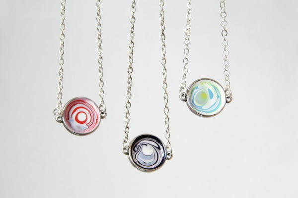Nail Polish Necklace Pendant