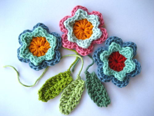 Spring Fever Easy Crochet Flowers