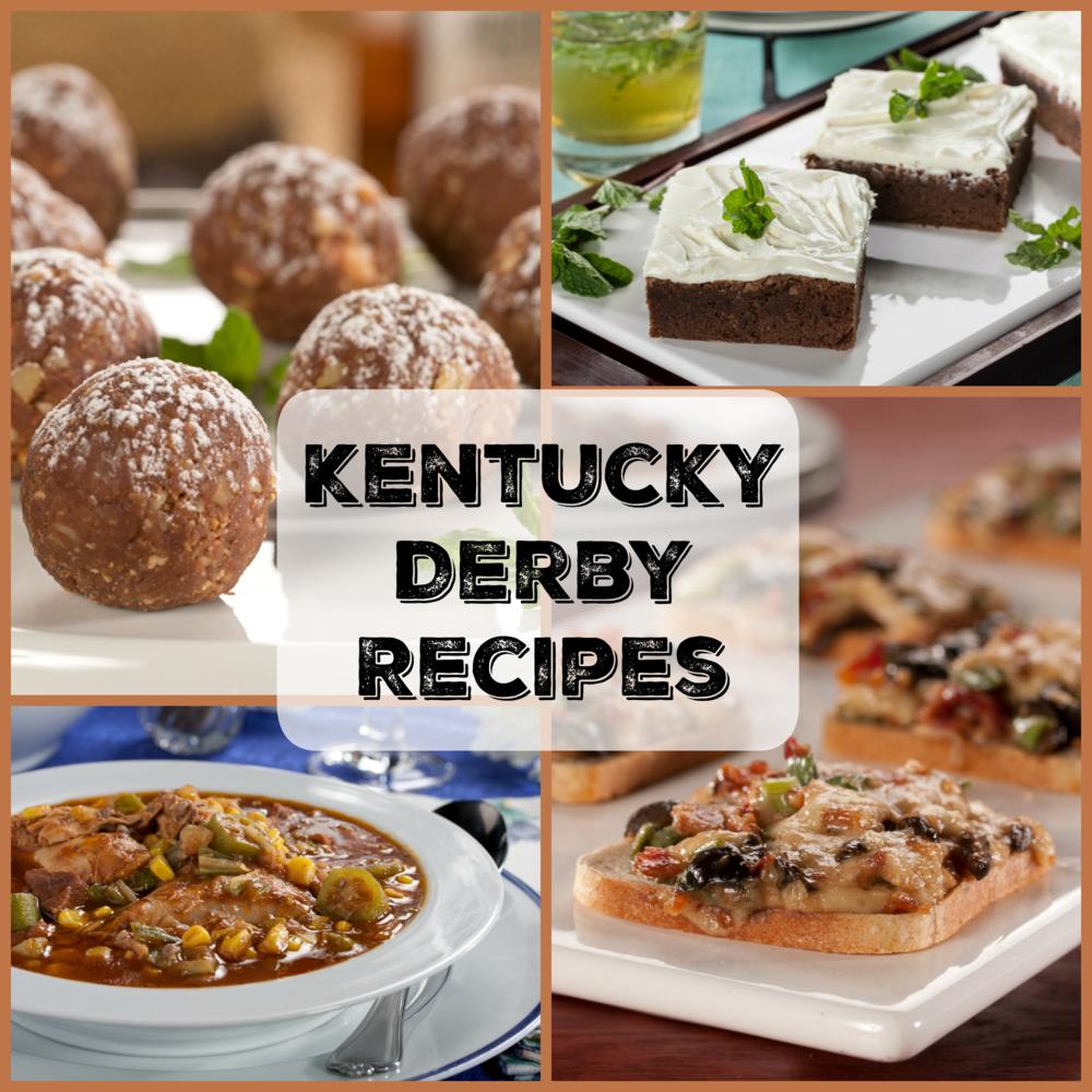 Kentucky Derby Recipes: Top 10 Recipe Ideas   MrFood.com
