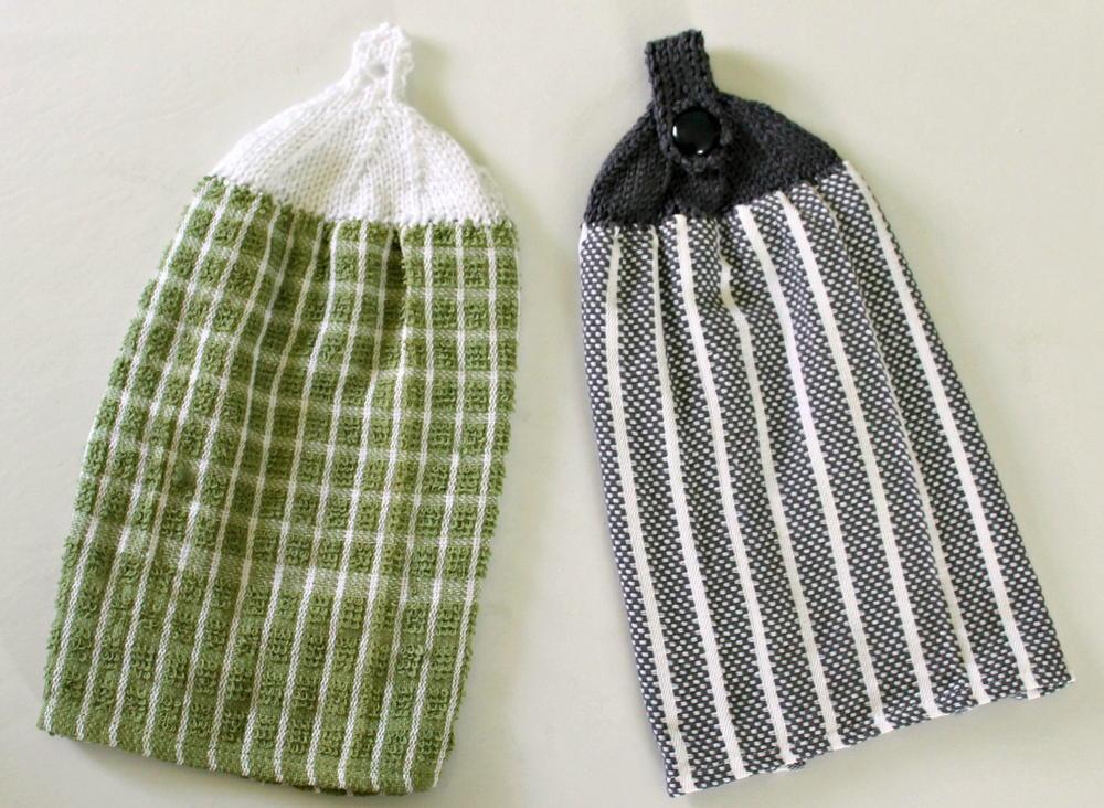 Knit Towel Top | AllFreeKnitting.com