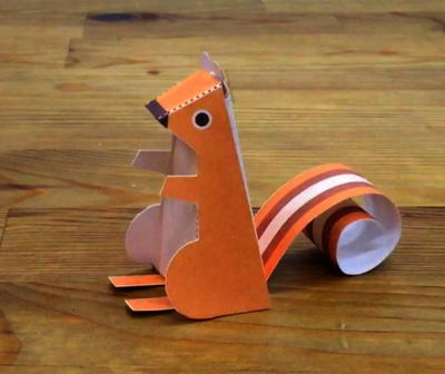Free Printable Paper Chipmunk