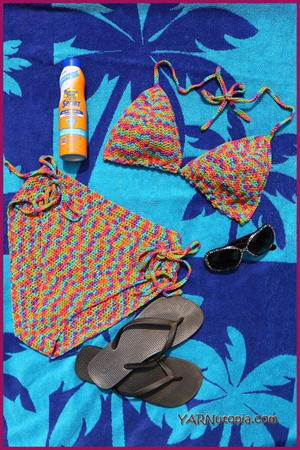 How to Crochet: The Sassy Summer Bikini