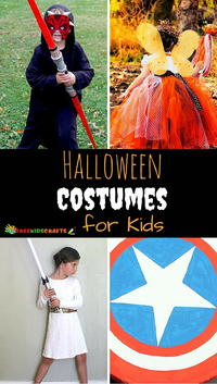 13 Kids' DIY Halloween Costumes