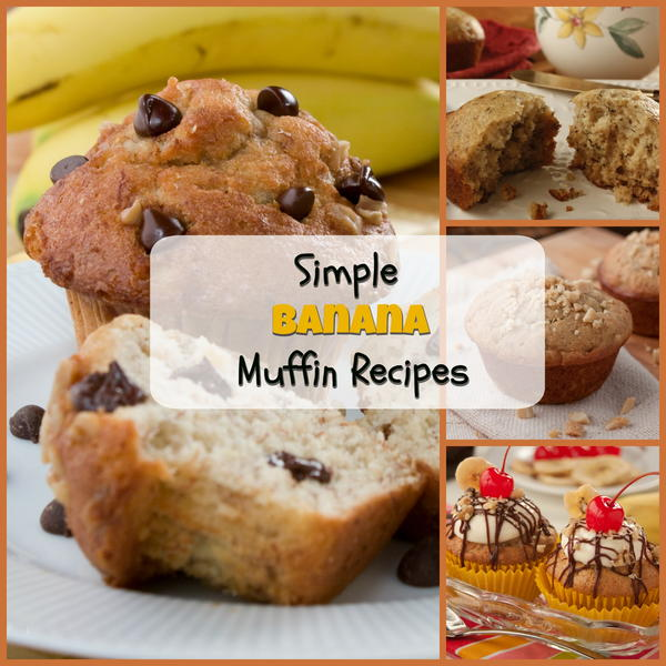 Simple Banana Muffin Recipes