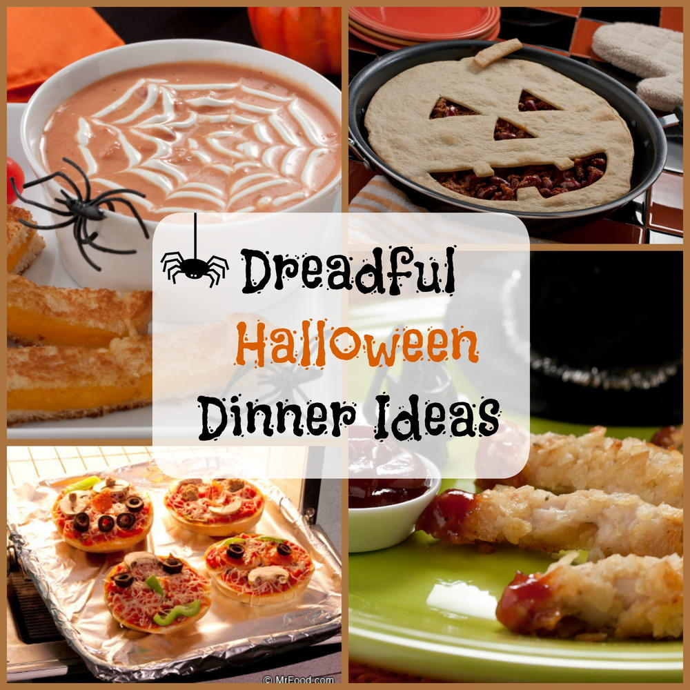 8 dreadful halloween dinner ideas for Best dinner party ideas