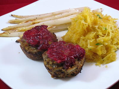 Thanksgiving Leftovers Mini Meatloaf Recipe