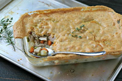 Homemade Paleo Chicken Pot Pie