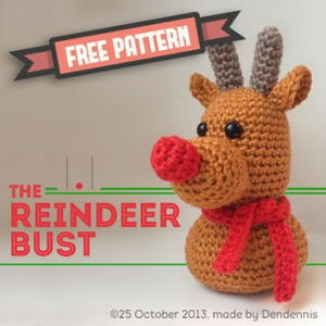 DIY Crochet Reindeer Amigurumi Christmas Rudolph How To! ¦ The ... | 300x300