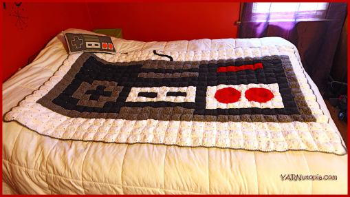 Gamer's Dream Nintendo Blanket