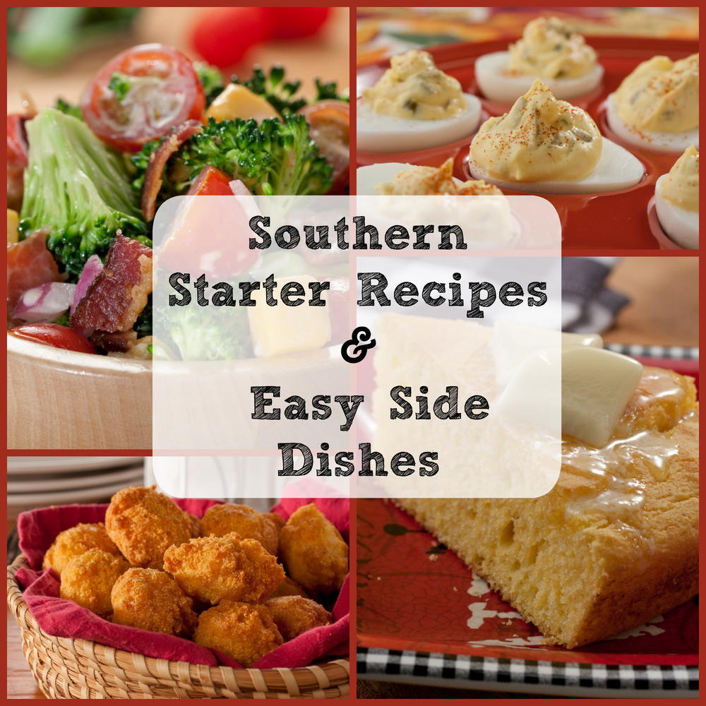 Kitchen Recipes: Southern Cooking: 12 Starter Recipes And Easy Side Dishes