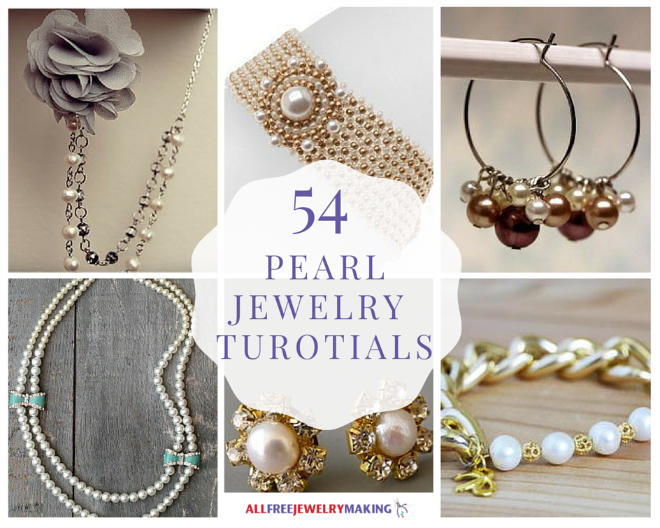 54 Pearl Jewelry Tutorials Allfreejewelrymaking Com