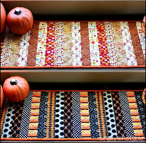 Holiday Table Runner Free Sewing Pattern