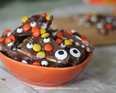 Spooky Salted Halloween Monster Bark
