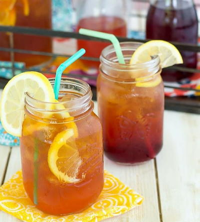 Easy Southern Peach Tea Recipe