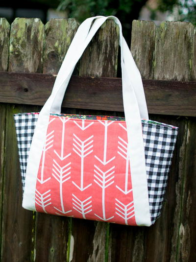 Nana's Perfect Picnic Tote Pattern