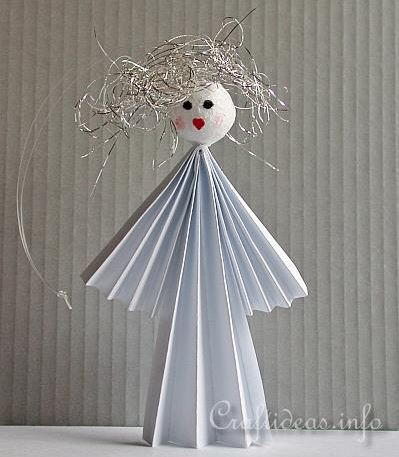 Heavenly Paper Angel Ornament
