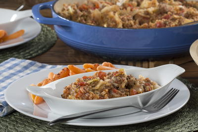 Hearty Beef and Cabbage Skillet
