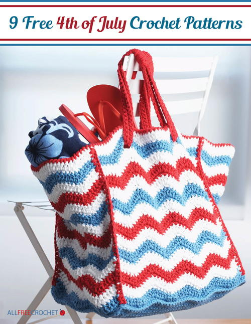 9 Free 4th of July Crochet Patterns