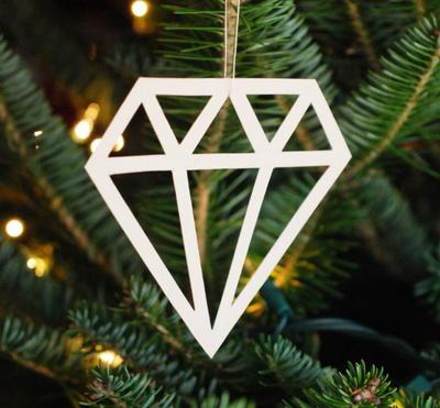 photograph regarding Printable Christmas Ornaments titled 13 Printable Xmas Ornaments
