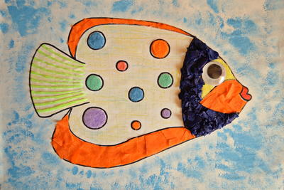 Exotic Fish Craft for Kids
