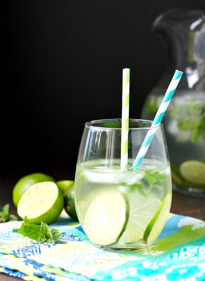Easy Mojito Infused Detox Water