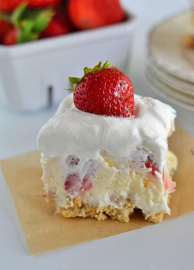 Cool Whip Strawberry Cheesecake Lush