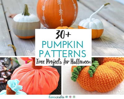 30 Pumpkin Patterns Free Projects for Halloween