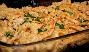 German Cheese Spaetzle Casserole