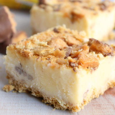 Rich Butterfinger Ice Cream Dessert Bars Recipe