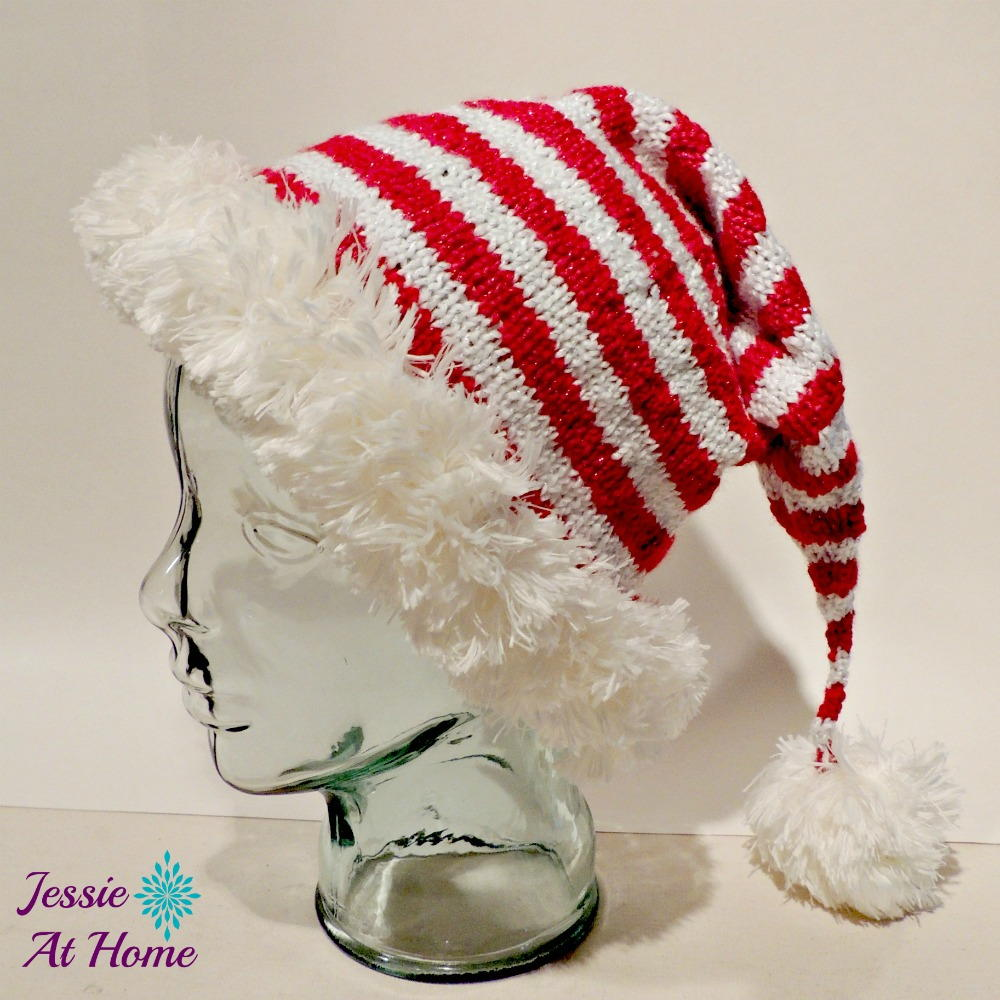 Jolly Elf Knit Hat Favecrafts Com