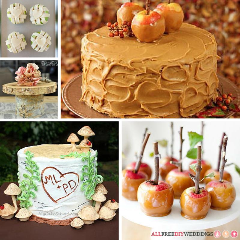Wedding Dessert Ideas: 26 Wedding Dessert Ideas For Fall