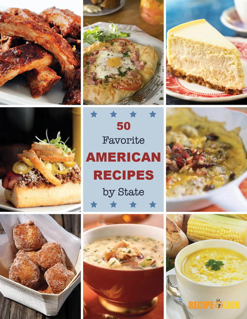 50 Favorite American Recipes by State eCookbook