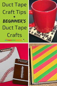 Duct Tape Craft Tips and 5 Beginner's Duct Tape Crafts