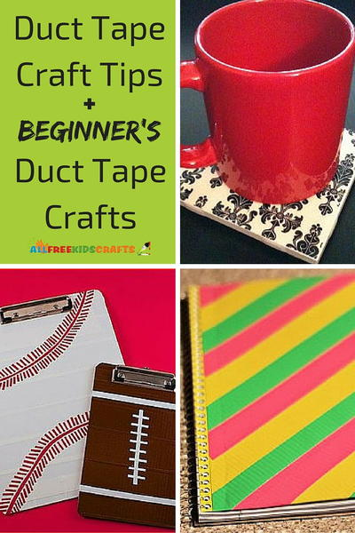 Duct Tape Tips and Crafts