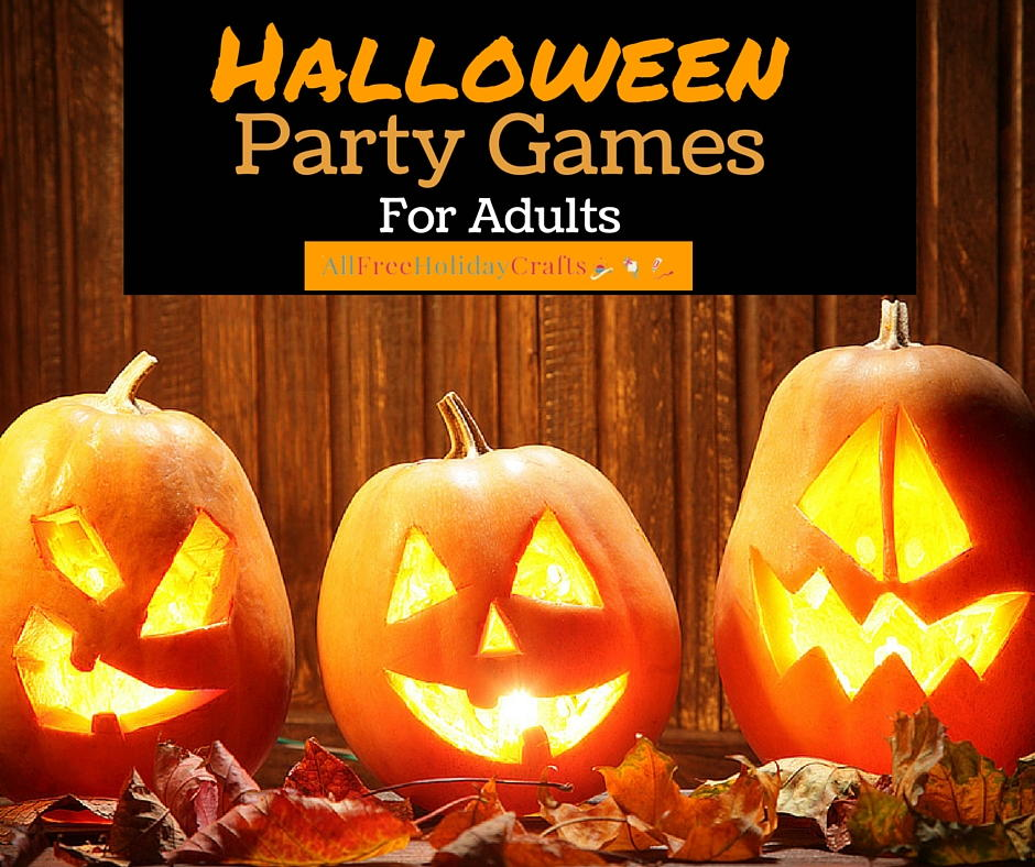 Christmas Party Games Ideas For Adults: 8 Halloween Party Games For Adults