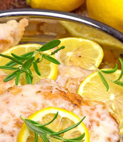 30-Minute Lemon and Rosemary Chicken