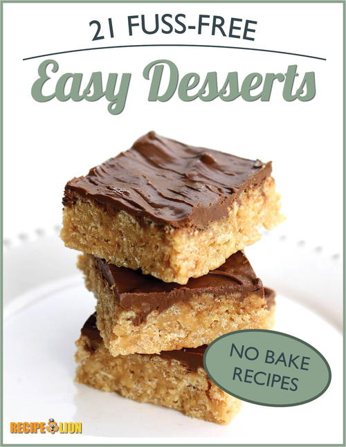 No Bake Recipes 21 Fuss-Free Easy Desserts eCookbook