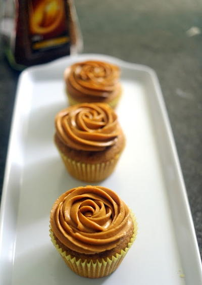 Coffee Cupcake Recipe with Buttercream Frosting