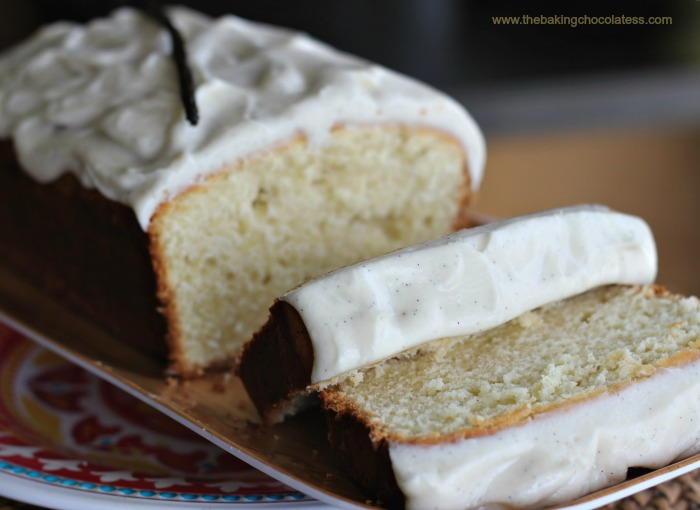 Pound Cake Loaf Recipes: Vanilla Bean Cream Cheese Pound Cake Loaf