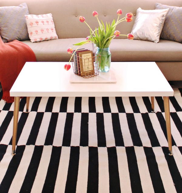 IKEA Hack DIY Coffee Table