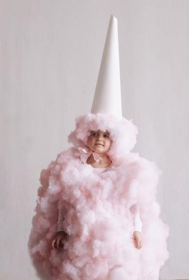 Cotton Candy Costume Idea