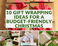 10 Gift Wrapping Ideas for a Budget-Friendly Christmas