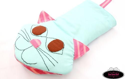 Meow Oven Mitts Pattern