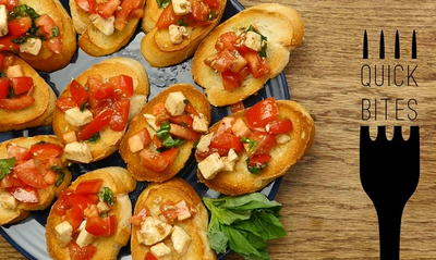Easy Italian Bruschetta
