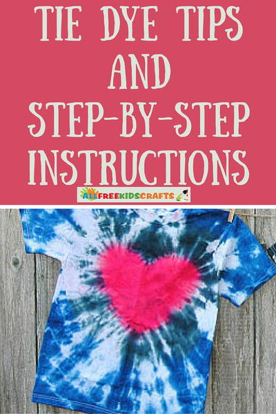 Easy Tie Dye Tips and Step by Step Instructions