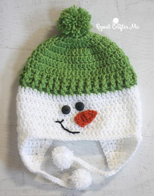 Jolly Snowman Hat