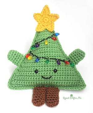 Huggable Crochet Christmas Tree