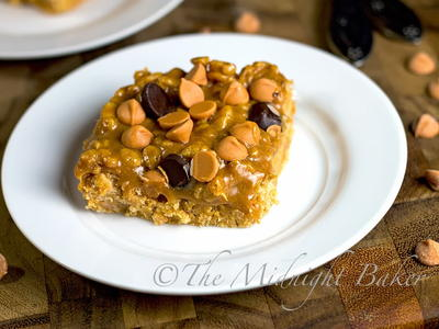 Butterscotch Caramel Bars