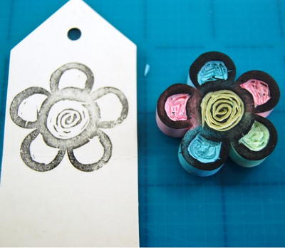 Flower Stamp Tutorial