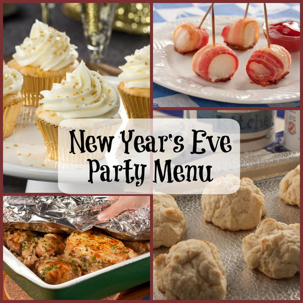 Easy New Years Eve Party Menu